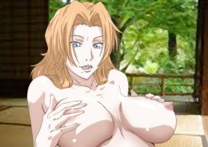 Hentai acariciando sus tetas